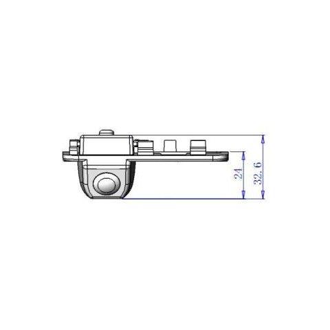 Автомобильная камера заднего вида для Honda Civic Превью 4