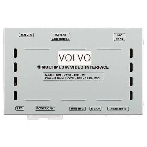 """Автомобильный видеоинтерфейс для Volvo с монитором 7"""" Превью 5"""