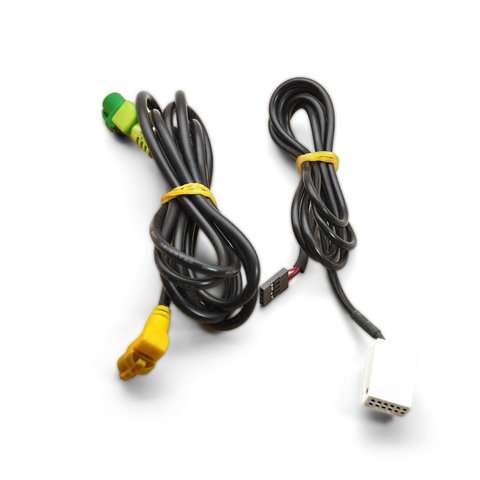 OEM AUX and USB Cable for Volkswagen with RNS510 / RCD510 Head Unit Preview 1