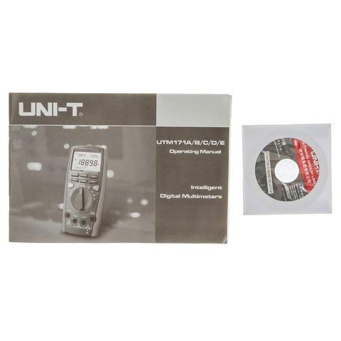 Цифровий мультиметр UNI-T UT71B Прев'ю 8