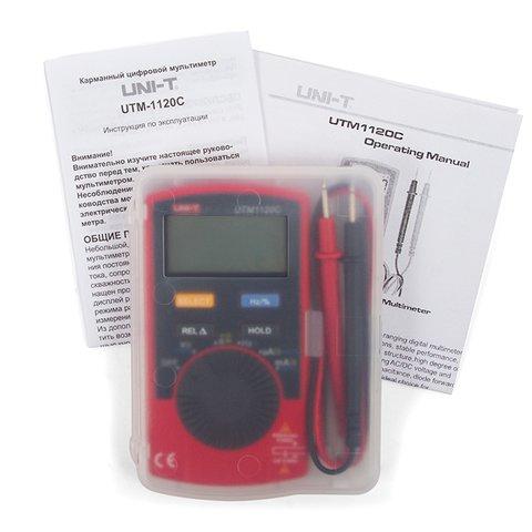 Цифровий мультиметр UNI-T UTM 1120C (UT120C) Прев'ю 3