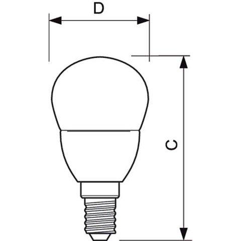 LED-лампа Philips CorePro Luster, WW (теплий білий) , Е14, 4 Вт, 250 лм Прев'ю 1
