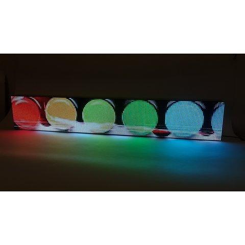 RGB LED-дисплей для реклами 960 мм × 160 мм, (192 × 32 точок), IP20 Прев'ю 7