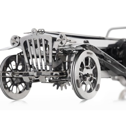 Металевий механічний 3D-пазл Time4Machine Glorious Cabrio Прев'ю 5