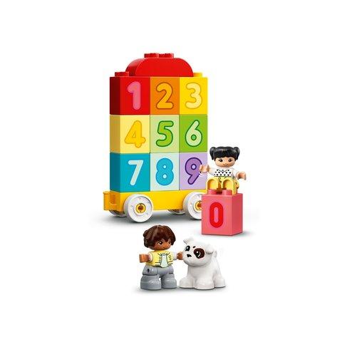 Конструктор LEGO DUPLO Потяг із цифрами – вчимося рахувати 10954 Прев'ю 3