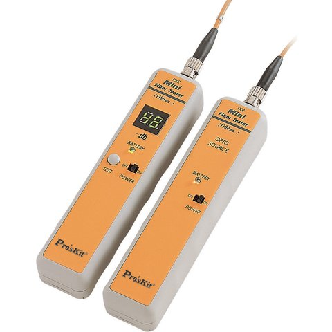 Mini Fiber Optic Cable Tester ST Type Pro'sKit 3PK-NT018S-ST Preview 1