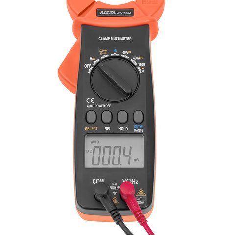 Digital Clamp Meter Accta AT-1000A Preview 8